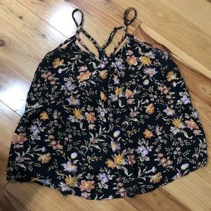American Eagle Outfitters size small floral tank